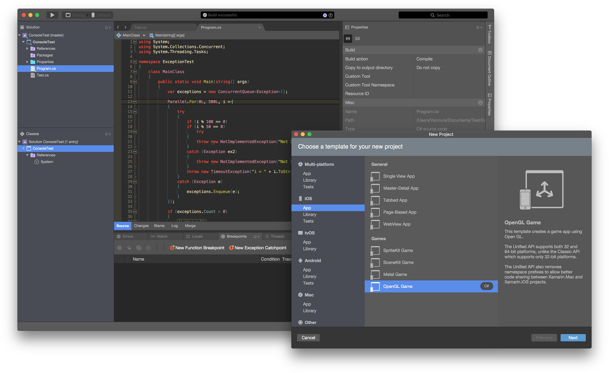Xamarin updates cross platform mobile app dev tools adtmag for Xamarin studio code templates