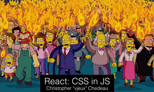 Audience Reaction to Including CSS in JavaScript