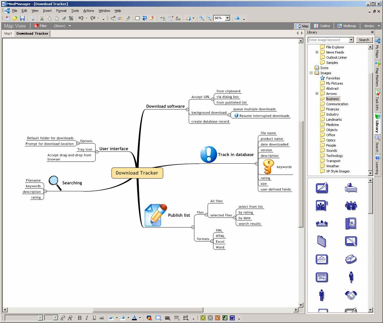 Review  Mindmanager X5 Pro