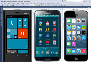 Perfecto Mobile testing from within Visual Studio