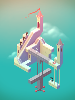 Monument Valley on an iPad