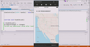 Creating an iOS Map App in Visual Studio with Xamarin