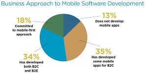 13 Percent of Organizations Report No Mobile Development