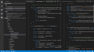 Tabs in Visual Studio Code
