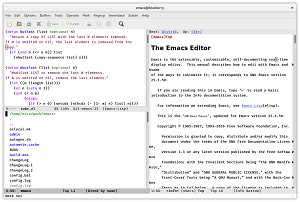 The Emacs Editor