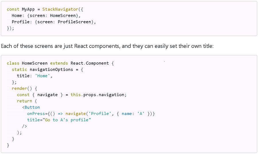 React Native Gets New Navigation Option -- ADTmag