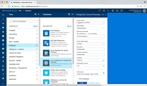Previews for PostgreSQL and MySQL Are Now Azure Database Options