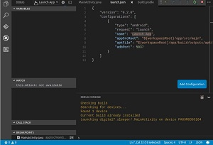 Android for VS Code in Action