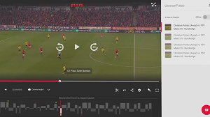 Using STATS for Video Analysis of a Soccer Game