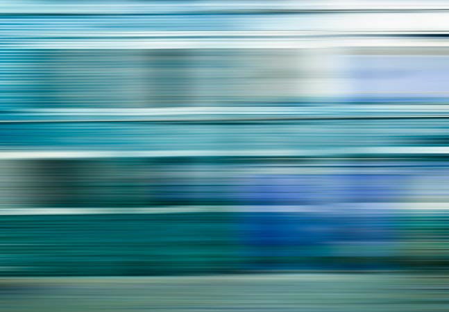 Blue Speed Lines Blurred Graphic
