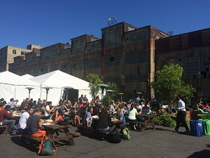 GitHub Universe is at Pier 70 Warehouse in the San Francisco Industrial District